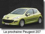 La Peugeot 2007 n'arrivera qu'en 2010 !