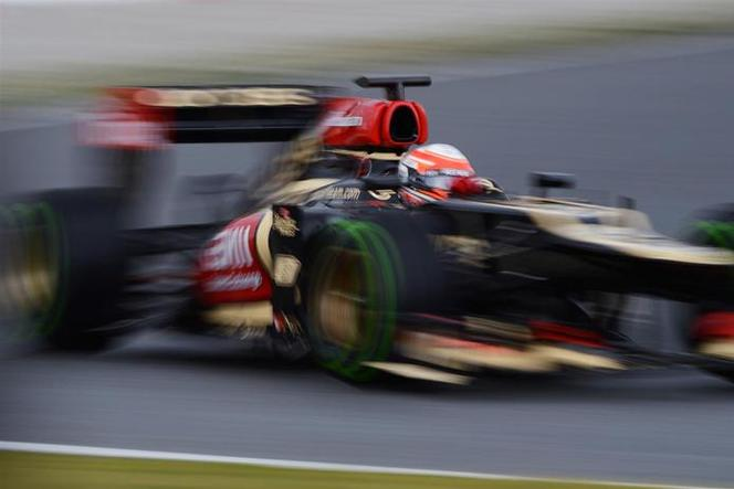 Essais F1 Barcelone Jour 2 : Romain Grosjean se montre avant Melbourne