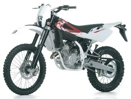 Husqvarna 125 (2012): des prix à la baisse sur les trails et autres supermotards