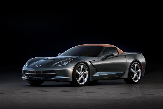 Salon de Genève 2013 - La Corvette Stingray cabriolet se montre