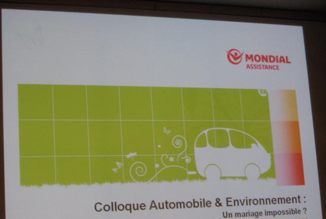Colloque : Automobile et Environnement, un mariage impossible?