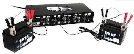 BS Battery: BS-BK10 jusqu'à 10 unités simultanément