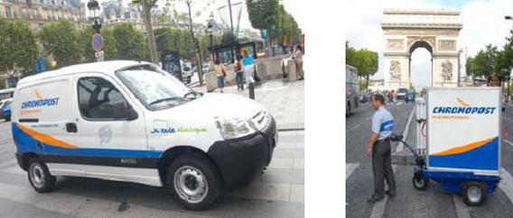 Chronopost adopte d'autres véhicules électriques