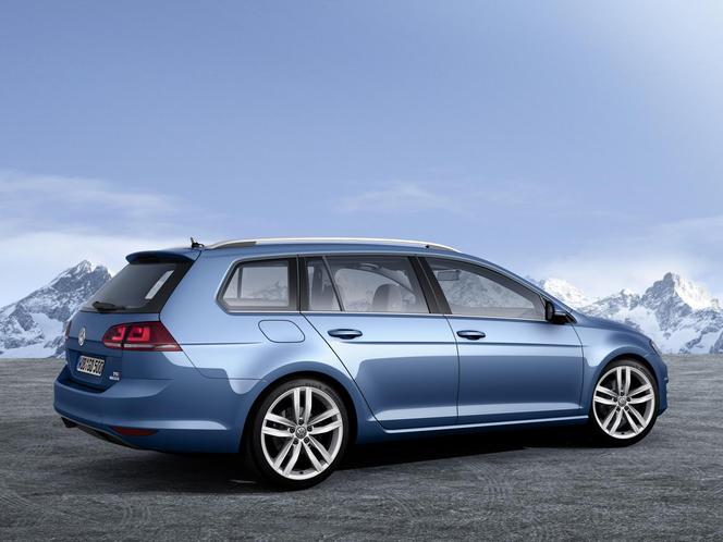 Salon de Genève 2013 - Voici la nouvelle Volkswagen Golf break