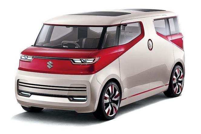 Tokyo 2015 : Suzuki Air Triser Concept - un van personnalisable