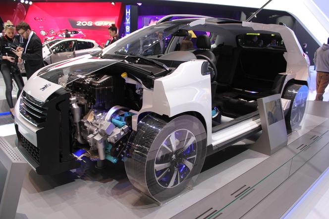 En direct du Salon de Genève 2013 : Peugeot 2008 Hybrid Air, un vent nouveau