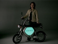 Technologie Yamaha : une moto phosphorescente ?