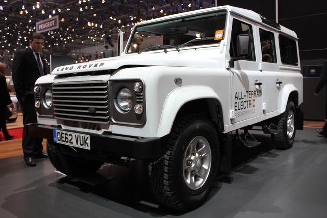 En direct du Salon de Genève 2013 : Land Rover Electric Defender Concept, l'armoire électrique