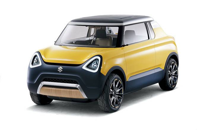 Tokyo 2015 : Suzuki Mighty Deck Concept - un déménageur ultra-mini