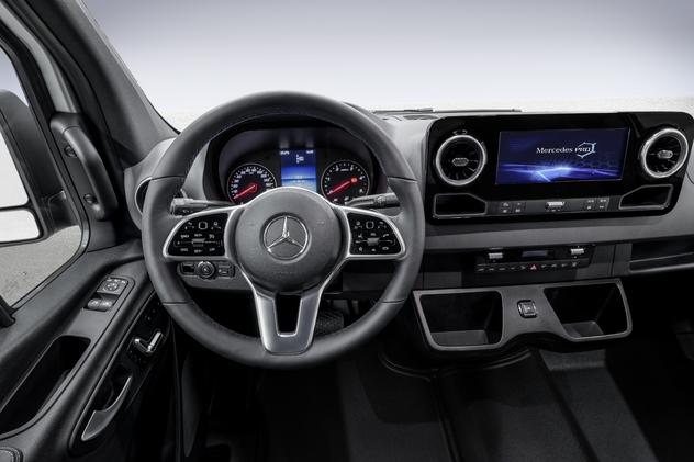 Nouveau Mercedes Sprinter (2018): la révolution dans l'utilitaire?