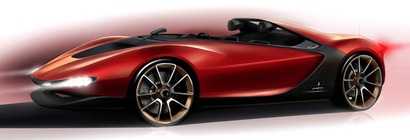 Salon de Genève 2013 - Le Pininfarina Sergio Concept en avance