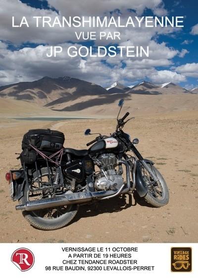 Exposition photo « La Transhimalayenne vue par JP Goldstein » chez Tendance Roadster du 11 octobre au 16 novembre 2012.