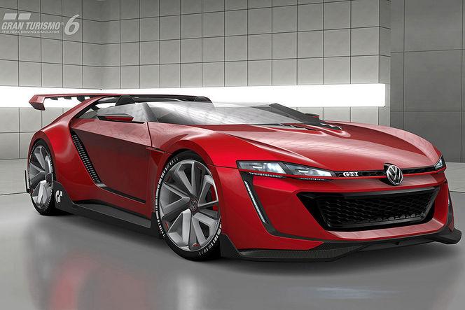 VW GTI Roadster Vision GT: de nouvelles images!
