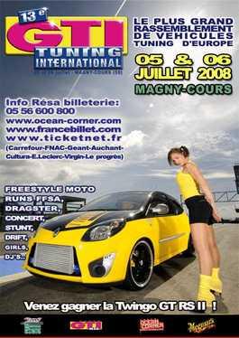 GTI International 2008 : 5 et 6 Juillet sur le circuit Magny-Cours !!
