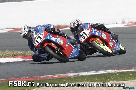 Championnat de France Superbike à Magny Cours :