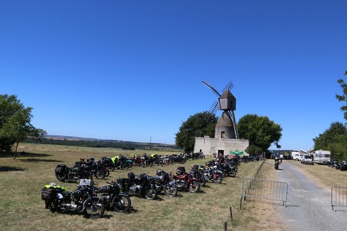 Tour de France Motos Anciennes 2018: 4500 kms en 19 étapes.