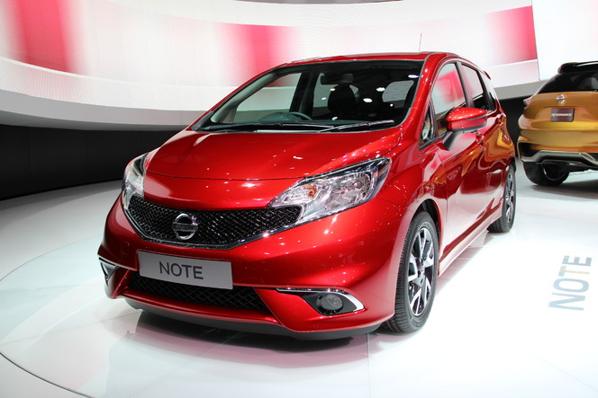 Video en direct du salon de Genève - Nissan note 2 : nouvelle B