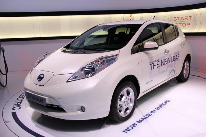En direct du salon de Genève 2013 : Nissan Leaf 2013