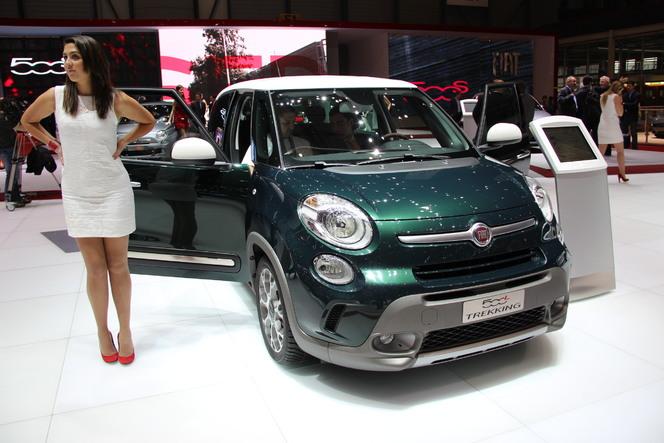 Vidéo en direct de Genève 2013 - Fiat 500 L Trekking : juste un look