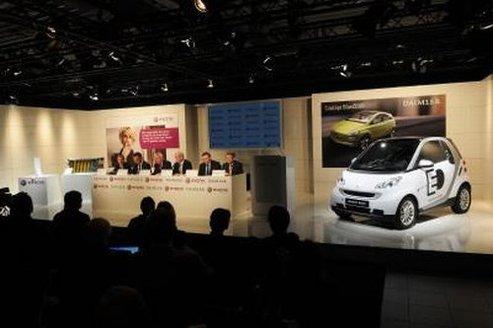 Batteries lithium-ion : Daimler et Evonik Industries AG, partenaires