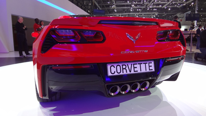 Vidéo en direct de Genève 2013 - Chevrolet Corvette Stingray Cabriolet: chérie, ça a tranché