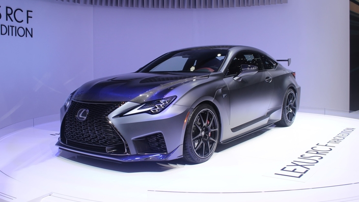 Lexus RC-F Track Edition : méchante - En direct du salon de Genève 2019