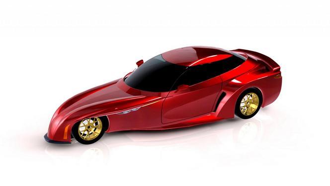 DeltaWing présente son projet de voiture de route quatre places