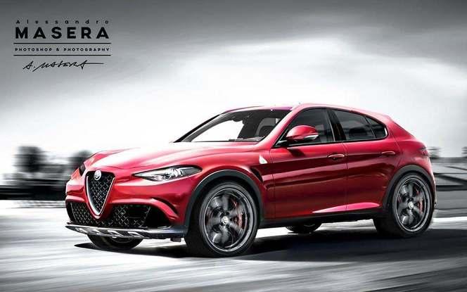 Futur SUV Alfa Romeo : comme ça ?