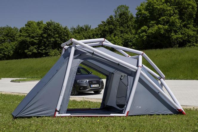 Audi: une tente de camping pour le Q3; des A1 et S3 Cabrio customisées