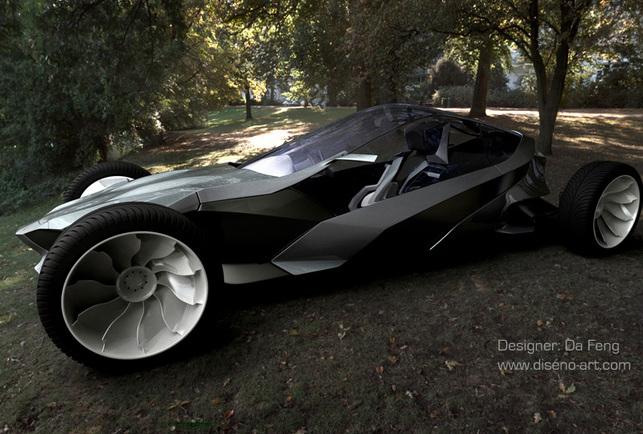 Le GYM Concept Car électrique : à fond la forme !