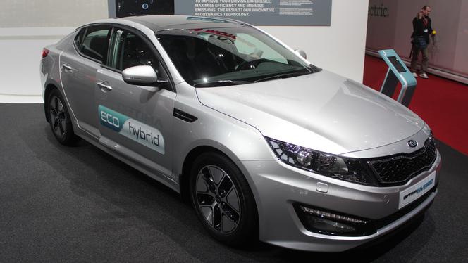 En direct du Salon de Genève 2013 - Kia Optima Hybrid restylée : la même