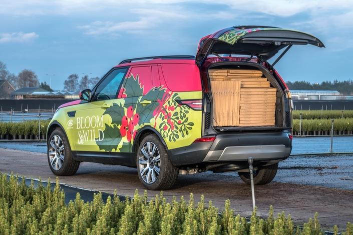 Land Rover dévoile une version utilitaire du Discovery