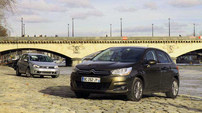 Citroën C4 vs Volkswagen Golf VI : l'identité nationale