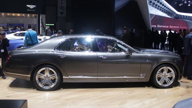 En direct du Salon de Genève 2013 - Bentley Mulsanne : elle ne change pas