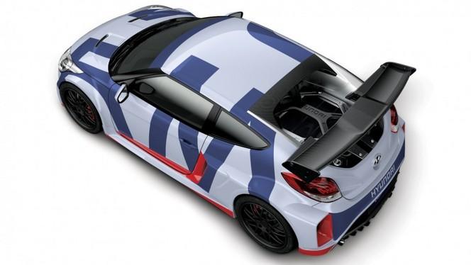Hyundai dévoile son concept Veloster Midship à moteur central arrière!