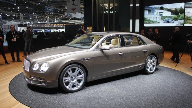 Vidéo en direct du Salon de Genève 2013 - Bentley Flying Spur : une bonne évolution