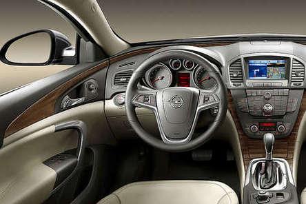 Future Opel Insignia : l'intérieur en clair