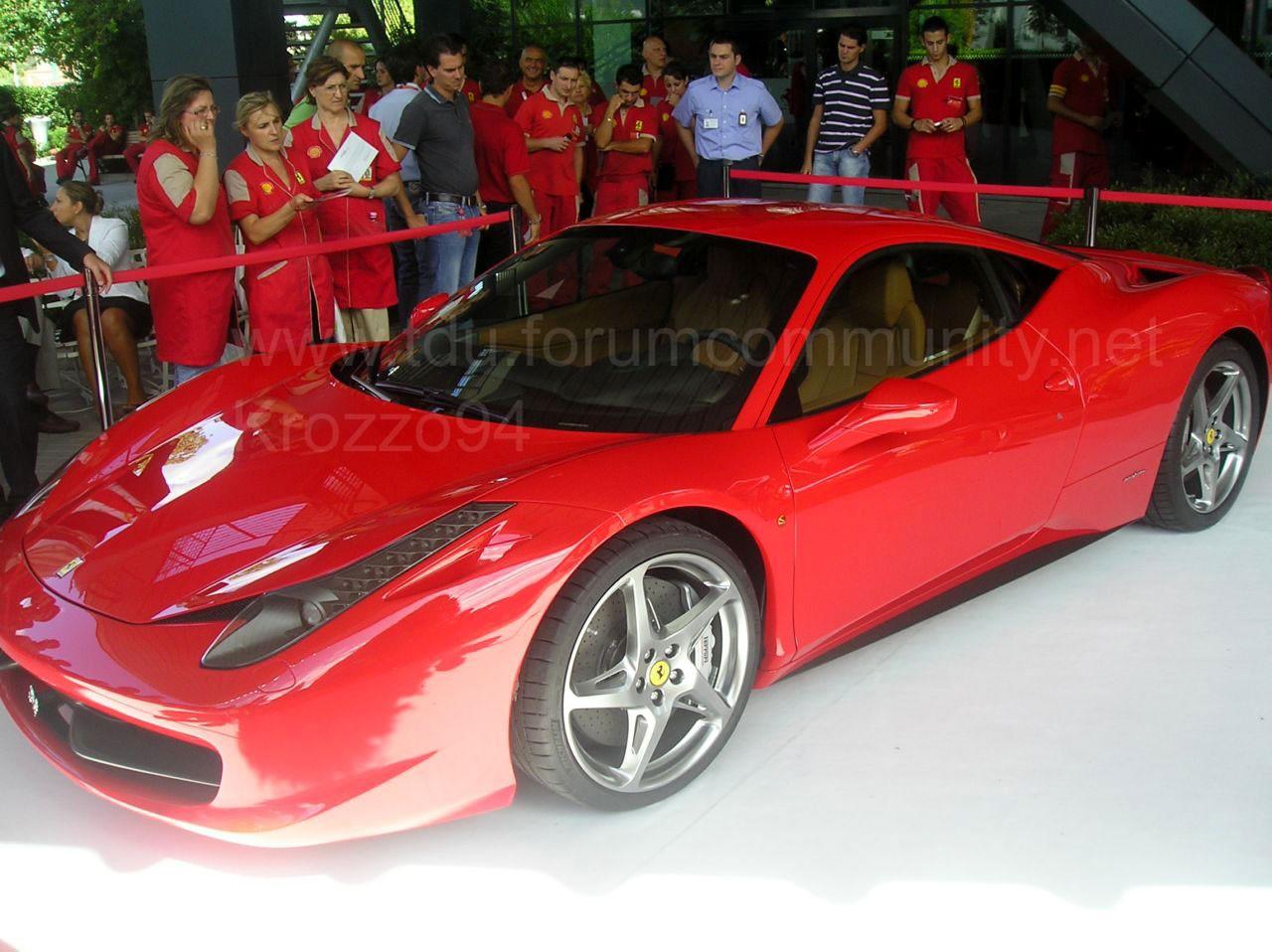 Ferrari 458 Italia : les