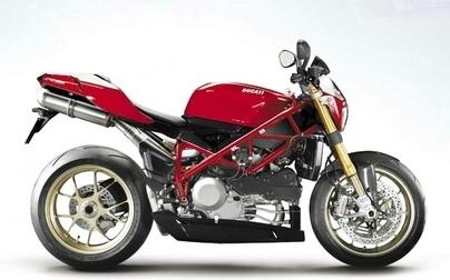 Une Ducati 1098 Naked dans les cartons ... à dessins.
