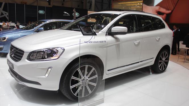 En direct du Salon de Genève 2013 - Volvo XC60 restylé : discrète
