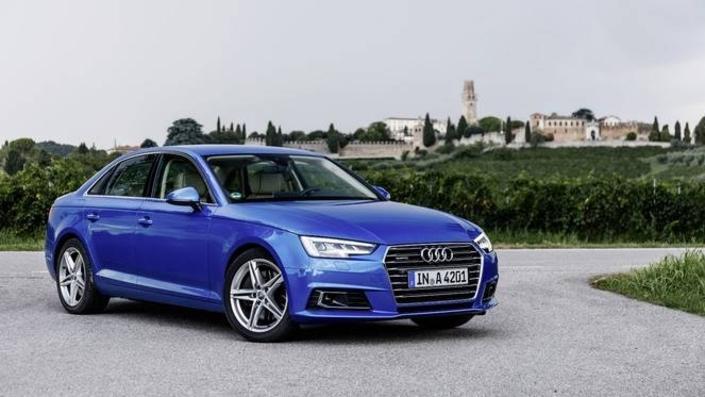 Quatre modèles à la peine chez Audi, dont une A4 pourtant récente.