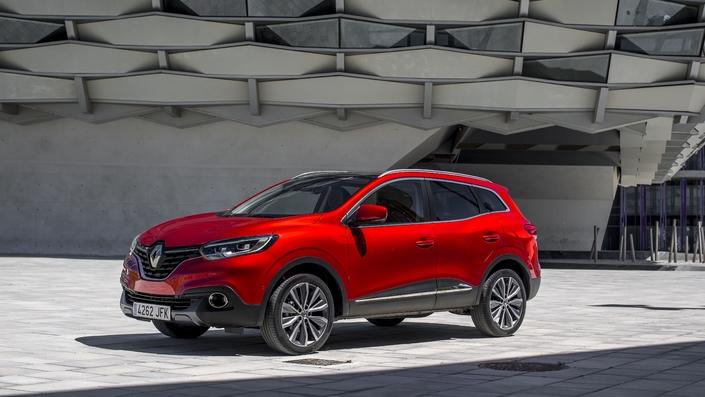 Les temps sont durs pour le Renault Kadjar (-17,4%), alors que son cousin le Nissan Qashqai a vu ses ventes remonter de 8,4% après un exercice 2016 en baisse.