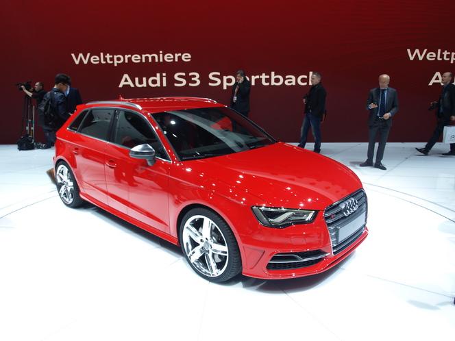 Vidéo : en direct du Salon de Genève 2013 - Audi S3 Sportback : pour tous les goûts