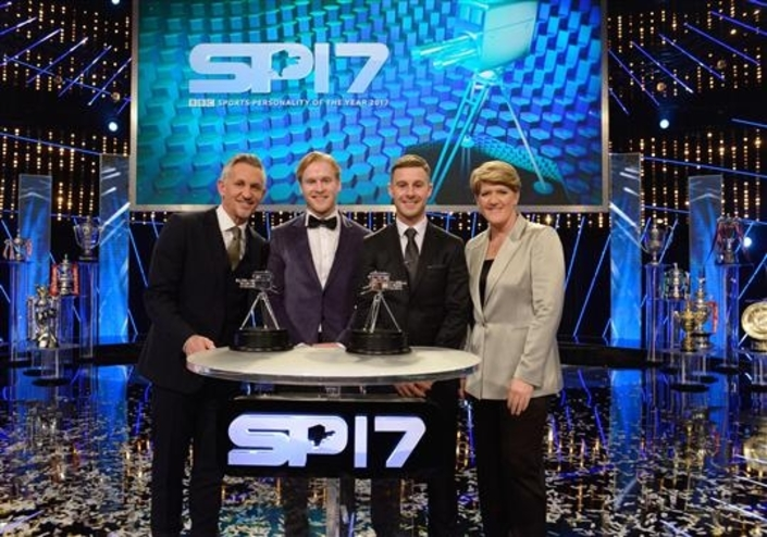 "Jonathan Rea second lors des ""BBC Sports Personality of the Year 2017"""
