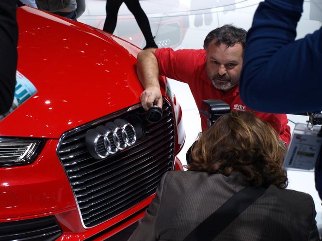 En direct du Salon de Genève 2013 - Audi A3 e-tron : le chameau d'Ingolstadt