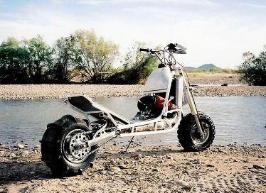 Scooter extrême : une trottinette qui assure.