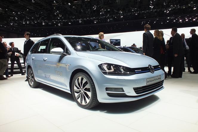 Vidéo en direct de Genève 2013 - Volkswagen Golf 7 SW : en avant coffre !