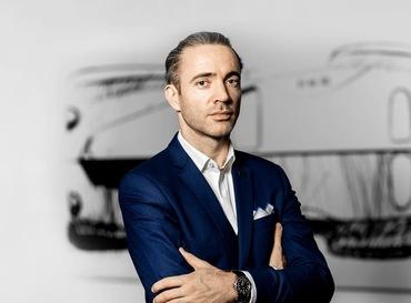 Étienne Salomé, directeur adjoint du design Bugatti.