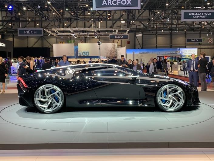 Bugatti La Voiture Noire: interview de son designer, Étienne Salomé - Salon de Genève 2019