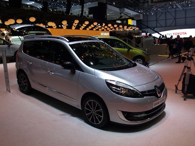 En direct du Salon de Genève 2013 : Renault Scénic restylé